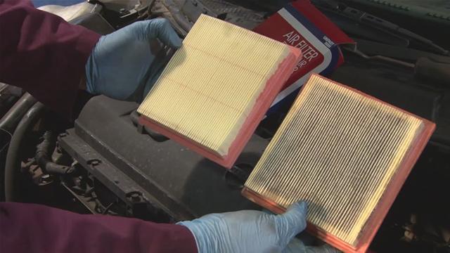 فیلتر نمدی خودرو