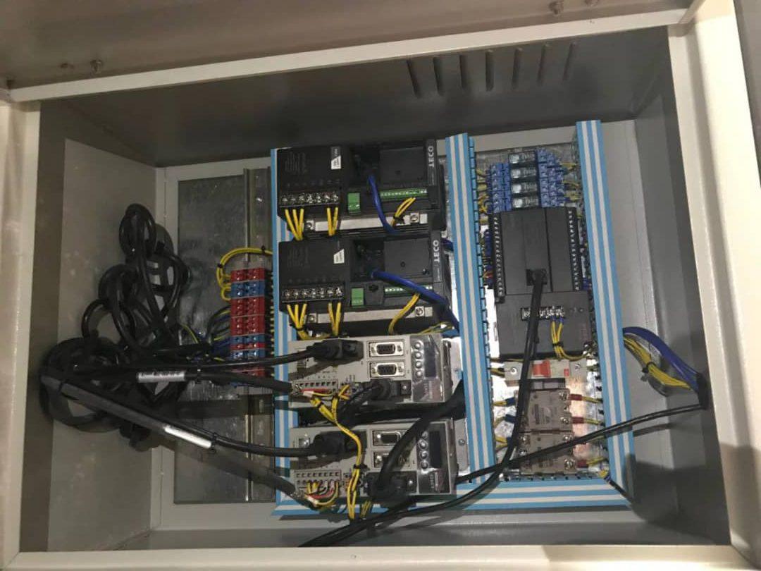تابلو دستگاه تولید فیلتر هوا